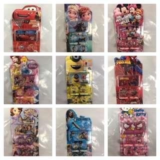 Kids Birthday Goodie Bag / Kids Cartoon Stamp Set