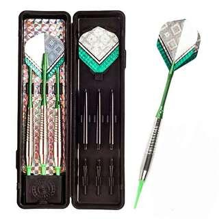 18g Green Glitters Arrow Electronic Soft Tip Darts (3 pieces / set)