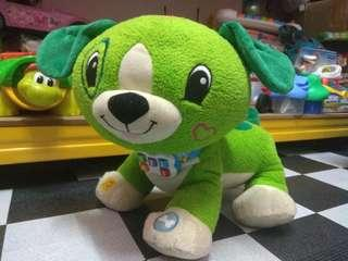 Leap Frog Read With Me Scout Puppy Plush Toy