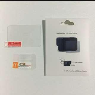 Gopro Hero 5 / 6 / 7 Tempered Glass LCD Screen Protector (With Plastic Lens Protector)