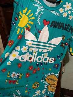 Authentic Adidas Pharrell Williams Artist Doodle Tee