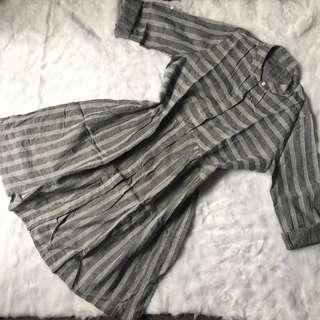 Zara look alike grey dress