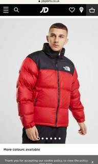 North face women's red jacket