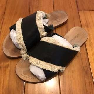 🚚 Antik Batik前交叉拖鞋/37號=23-23.5cm