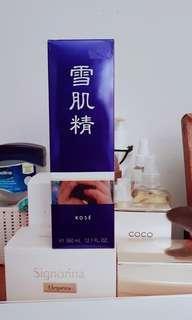Japanese skin care Kose Sekkisei 360ml