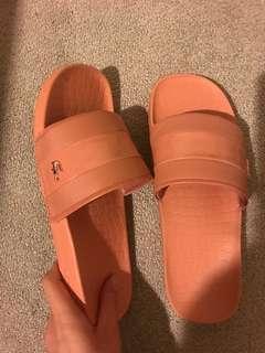 Lacoste sandal. Pink colour. Size UK6
