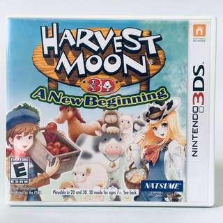 harvest moon a new beginning game nintendo 3ds