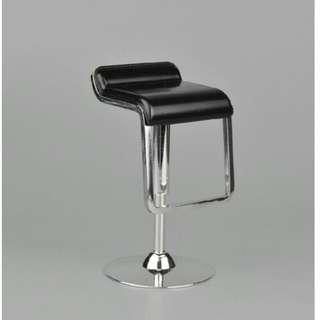 1/6 scale rotating bar stool chair black colour