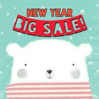 New Year BIG SALE!