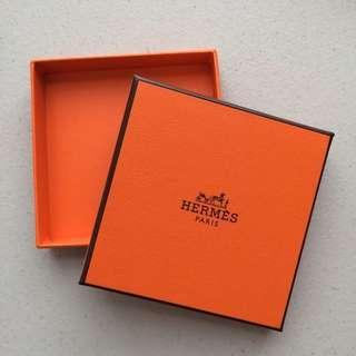 Empty Hermes Bracelet Box