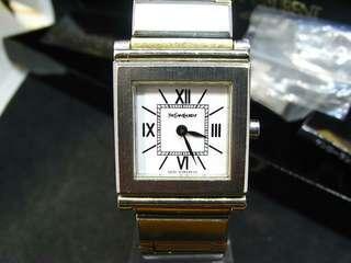 YSL watch + box working fine                        (((NO BARGAIN, PLS!! 拜托!!))) 日本名牌手錶