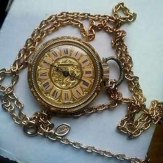 Vintage Landau Swiss pocket watch
