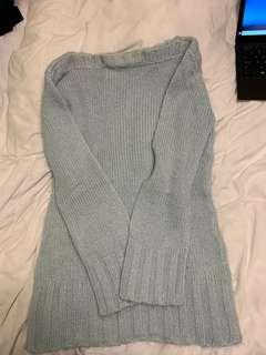 Light blue sweater- Size M