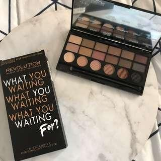 """Makeup revolution eyeshadow palette """"what are you waiting for"""" *Brand new"""