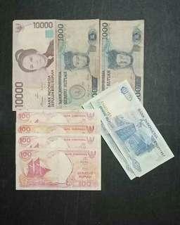 Paket uang lama