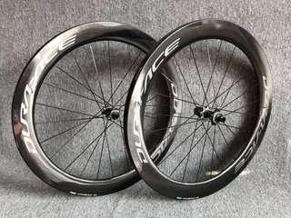 Dura Ace R9170 C60 Center Lock Tubular Disc Wheelset