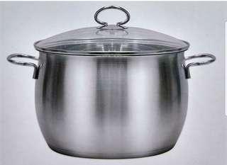 全新🥘Thermos 24吋24L不鏽鋼高身煲Stainless steel cookware