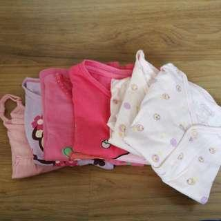 Baby Girl Clothings From New Born