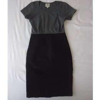 black grey dress CIEL like new