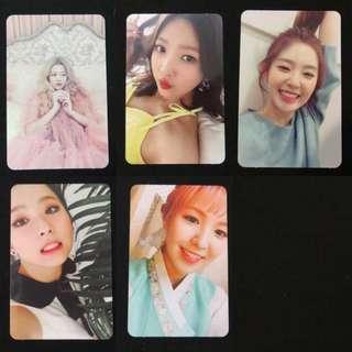 [PO] Red Velvet The Velvet Official Photocards Set