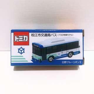 全新未拆 Tomica Tomy 松江市交通局 特注 巴士 第3彈 (包膠盒)