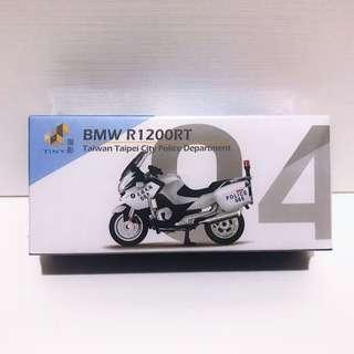 全新未拆 Tiny 微影 台灣 #04 寶馬 BMW R1200RT 交通警察 重機 摩托