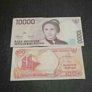 100 pinisi dan 10 rb jadul