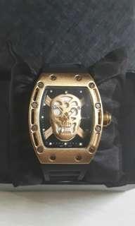 Jam tangan Richard Mille Skull