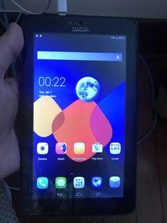 Alcatel one touch 7 inch 3g tablet for sale
