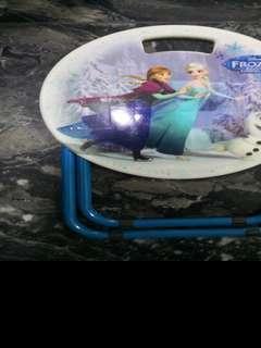 Foldable stool for kids - frozen