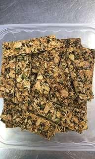 CNY Cookies - Almond Florentine
