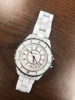 Chanel J12 white still working with small defects
