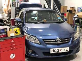 A simple HU upgrade, additional reverse camera, in car camera plus our in house brand EANOP Tpms!   Having an incar camera protects ourself from other road users! And a gentle reminder to our dear motorist, practise road courtesy and drive safetly!