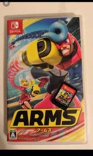 Arms switch game