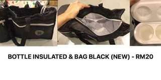 insulated holder with bag