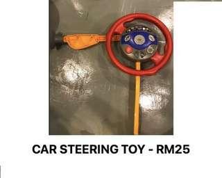 Car steering toy