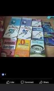 Secondary maths books