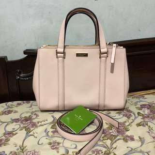 Kate Spade small loden baby pink