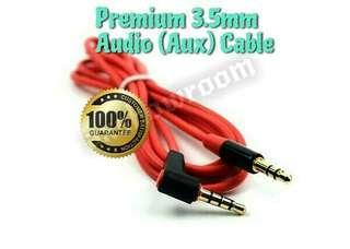 Premium Quality 3.5mm Audio Cable For Your Aux Audio Connection