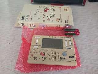 Korg TM-60 Hello Kitty調音器+拍子機