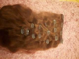 High quality 22' human hair extensions