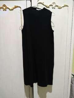 Zara - Stretch hitam rajut tebal