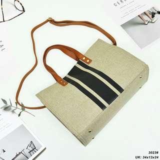f278b87b65  CANVAS TOTE BAG 2023  Tas Fashion Wanita Impor Murah
