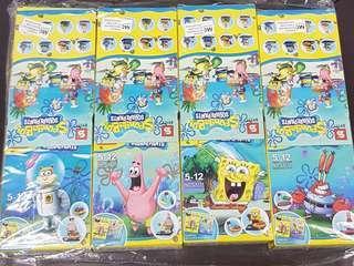 Sponge Bob Square Pants figurines