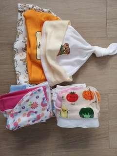 Preloved baby hats