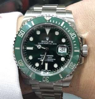 Brand New BNIB Rolex Submariner Hulk 116610LV