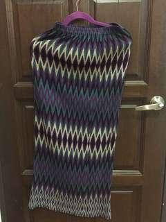 Stretchable skirt