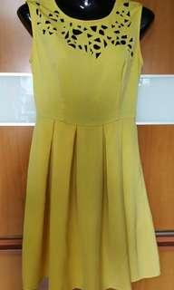 Bless Yellow Dress (S/M) free mailing
