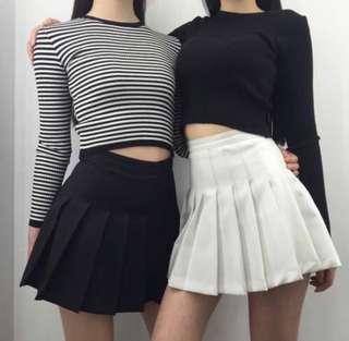 AA Tennis Skirt (black)