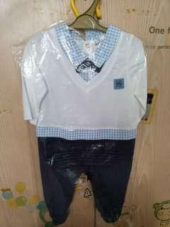 Max-kool romper BN with tag (6-9m)